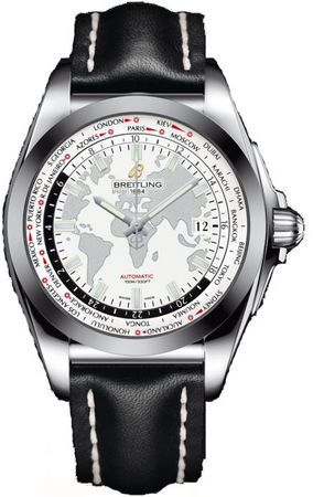 Breitling Galactic Unitime Sleek T Men's Watch WB3510U0/A777-435X