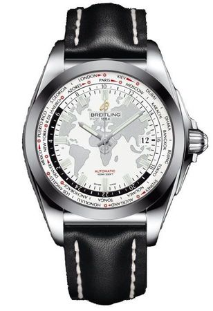 Breitling Galactic Unitime Sleek T Men's Watch WB3510U0/A777-436X