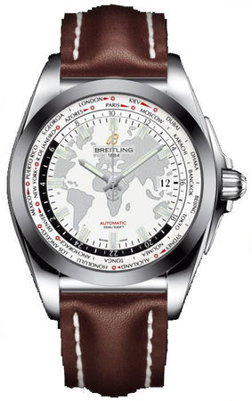 Breitling Galactic Unitime Sleek T Men's Watch WB3510U0/A777-438X