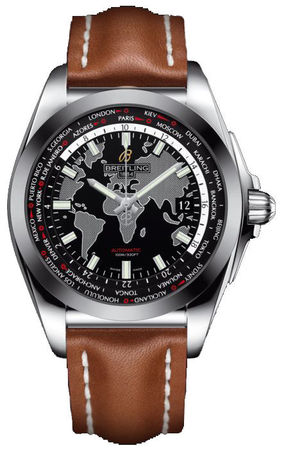 Breitling Galactic Unitime Sleek T Men's Watch WB3510U4/BD94-433X