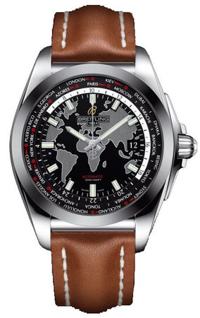 Breitling Galactic Unitime Sleek T Men's Watch WB3510U4/BD94-434X
