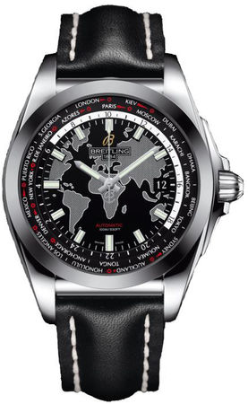 Breitling Galactic Unitime Sleek T Men's Watch WB3510U4/BD94-435X