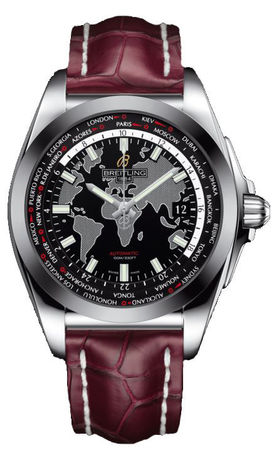 Breitling Galactic Unitime Sleek T Men's Watch WB3510U4/BD94-735P