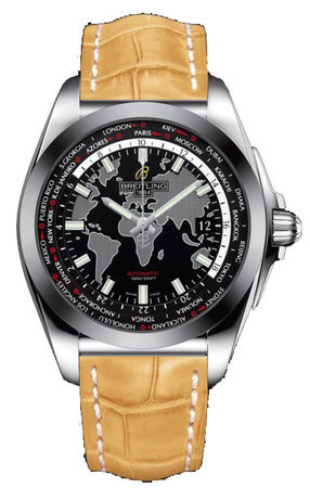 Breitling Galactic Unitime Sleek T Men's Watch WB3510U4/BD94-745P
