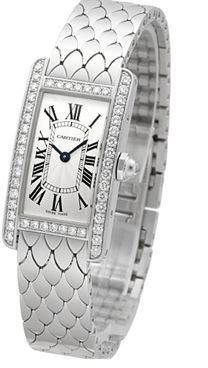 Cartier Tank Americaine  Women's Watch WB710009