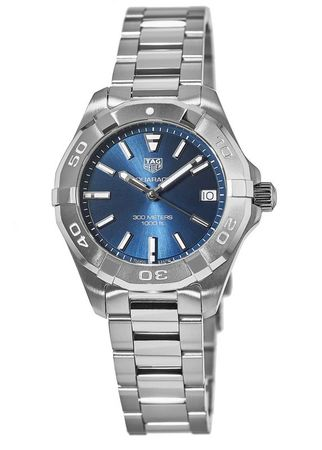 Tag Heuer Aquaracer Lady 300M 32MM Blue Dial 32mm Steel Women's Watch WBD1312.BA0740