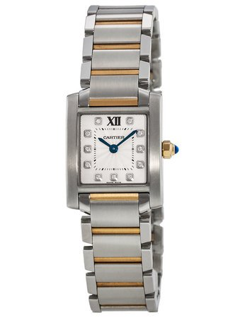 Cartier Tank Francaise  Women's Watch WE110004