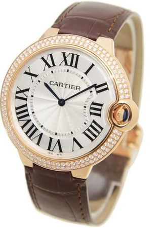 Cartier Ballon Bleu 40mm  Men's Watch WE902055