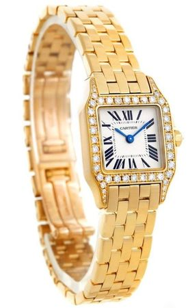 Cartier Santos Demoiselle  Women's Watch WF9001Y7