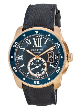 Cartier Calibre de Cartier Diver  Men's Watch WGCA0009