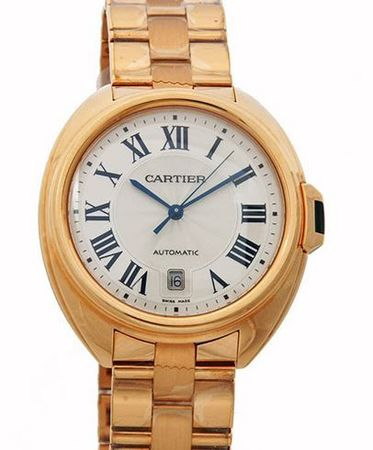 Cartier Cle de Cartier 40mm 18kt Rose Gold Automatic Men's Watch WGCL0002