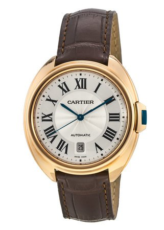 Cartier Cle de Cartier 40mm 18kt Rose Gold Automatic Men's Watch WGCL0004