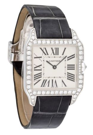 Cartier Santos Dumont  Women's Watch WH100251