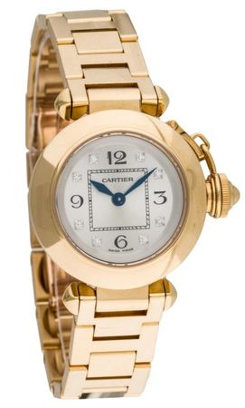 Cartier Pasha Miss Pasha  Women's Watch WJ124015