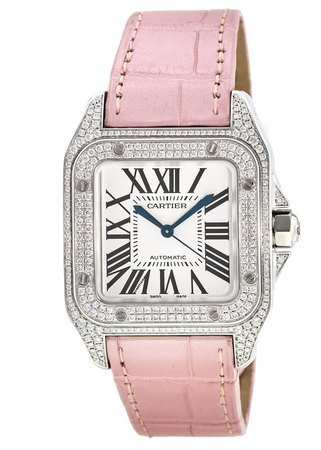 Cartier Santos 100 Automatic  Women's Watch WM501751