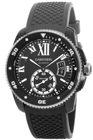 Cartier Calibre de Cartier Diver Carbon Men's Watch WSCA0006