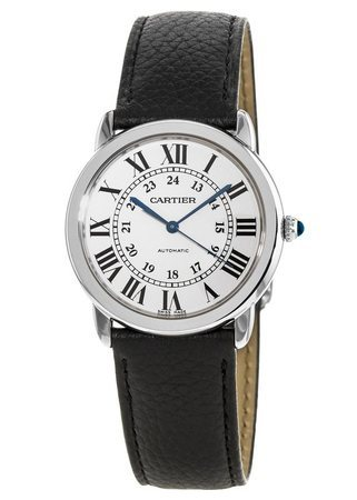 Cartier Ronde Solo Automatic Silver Dial Women's Watch WSRN0021