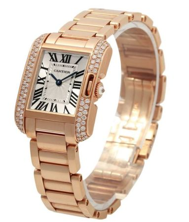 Cartier Tank Anglaise  Women's Watch WT100002