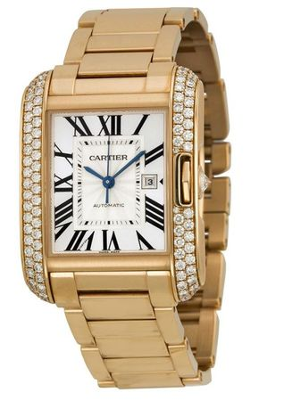 Cartier Tank Anglaise  Women's Watch WT100005
