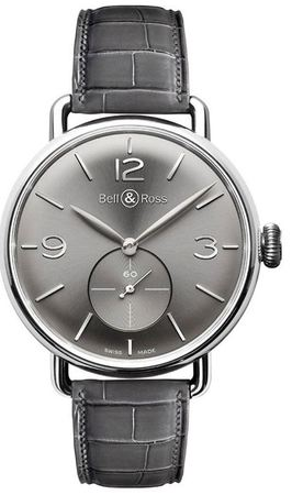Bell & Ross Vintage   Men's Watch WW1 Argentium Ruthenium