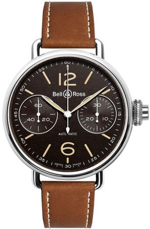 Bell & Ross Vintage   Men's Watch WW1 Chronograph Monopoussoir Heritage