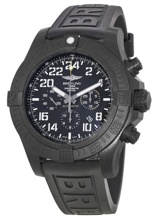 Breitling Avenger Hurricane Rubber Diver Strap Men's Watch XB1210E4/BE89-154S