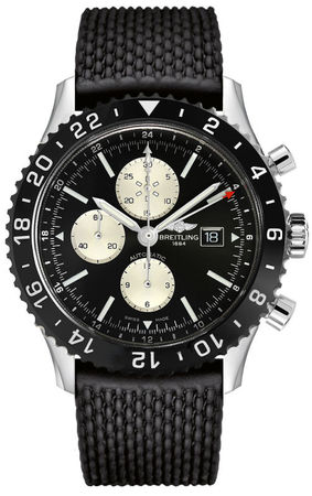 Breitling Chronoliner  Ceramic Pilots Chronograph GMT Men's Watch Y2431012/BE10-256S