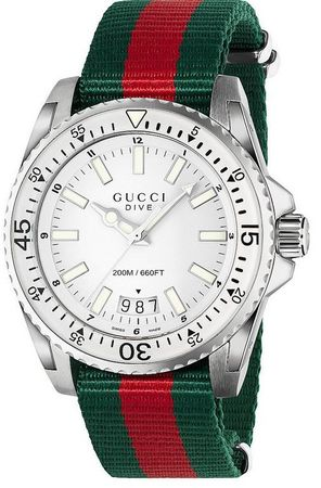 Gucci Dive   Men's Watch YA136207