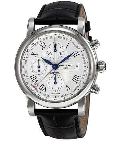 8f897061ba332 Montblanc 107113 Star Chronograph UTC Men s Watch - WatchMaxx.com