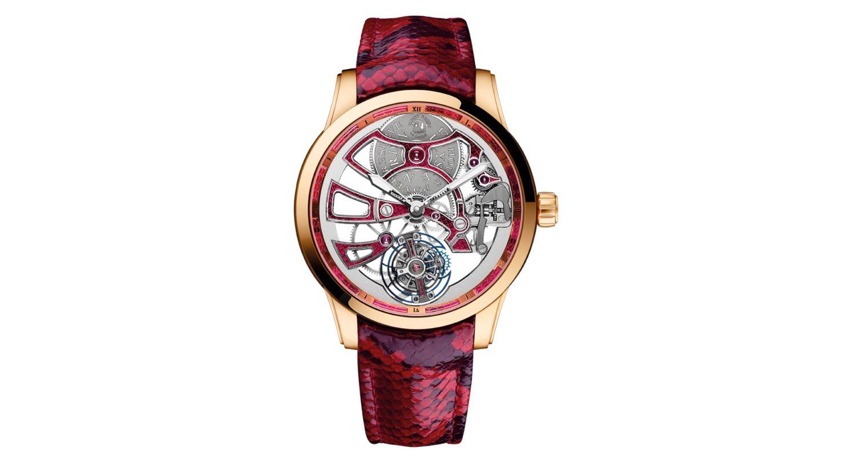 Ulysse nardin 1706 129 06 classic skeleton tourbillon men 39 s watch for Classic skeleton watch