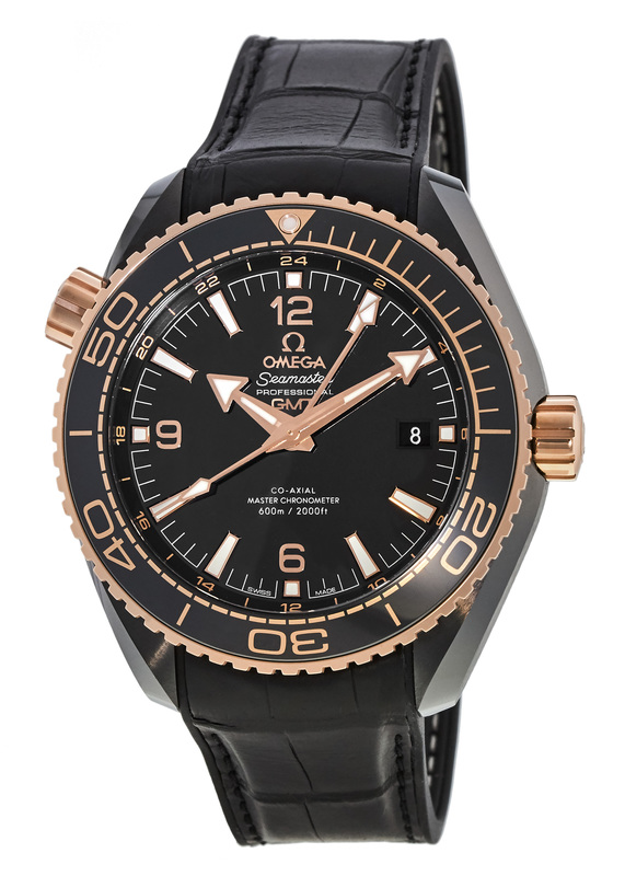 Breitling Watches For Sale >> Omega 215.63.46.22.01.001 Seamaster Planet Ocean 600M GMT ...