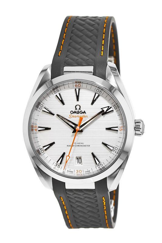 f8c09c155a8 Omega Seamaster Aqua Terra 150m Master Co-Axial Chronometer 41 MM Grey Rubber  Men s Watch 220.12.41.21.02.002