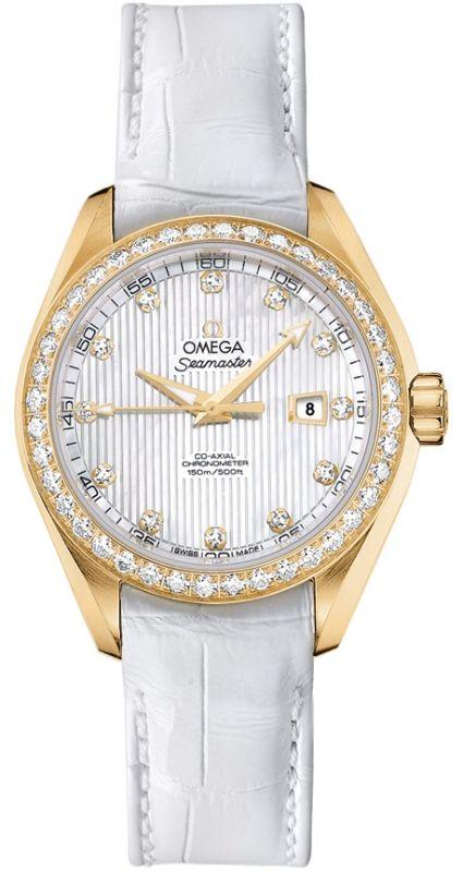 254f8aea6d4e Omega Seamaster Aqua Terra Automatic Chronometer 34mm Women s Watch  231.58.34.20.55.001