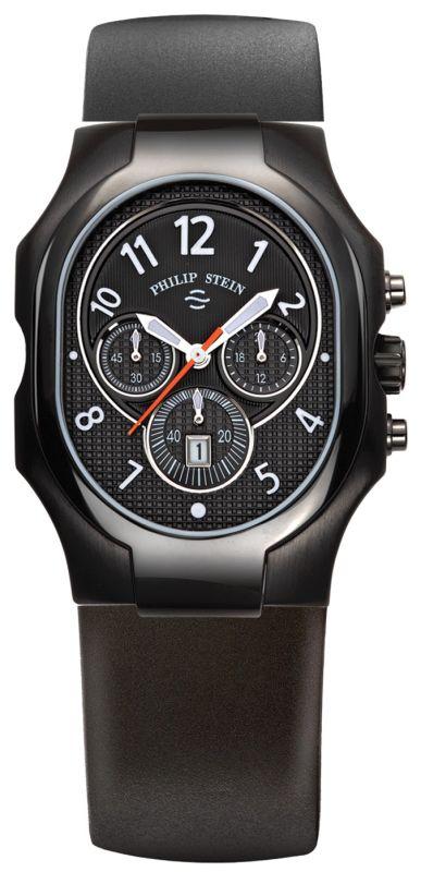 Philip stein 23b nbo rb signature chronograph men 39 s watch for Philip stein watches