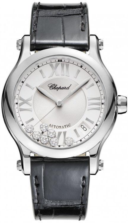 762bf69775cd1 Chopard 278559-3001 Happy Sport Medium Automatic 36mm Women s Watch ...