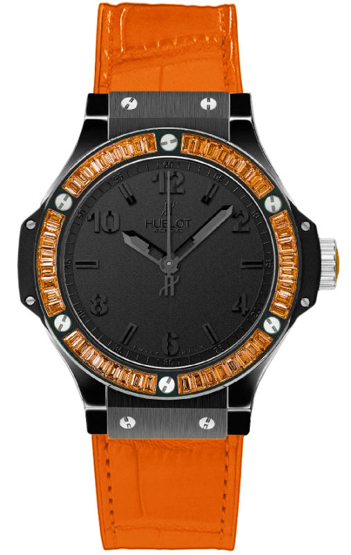 Hublot Big Bang Tutti Frutti Women s Watch 361.CO.1110.LR.1906.ORANGE c3ebc40a8