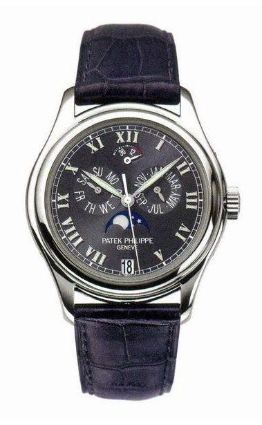 Patek philippe 5056p annual calendar moonphase men 39 s watch for Patek philippe moonphase