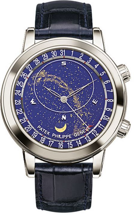 Patek Philippe Celestial Mens Watch 6102P-001