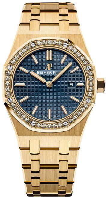 Audemars Piguet 67651BA.ZZ.1261BA.02 Royal Oak Quartz Women s Watch ... f536442ded