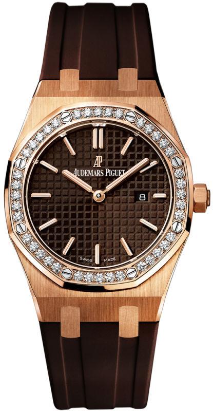 Audemars Piguet 67651OR.ZZ.D080CA.01 Royal Oak Quartz Women s Watch ... a5964b6de4