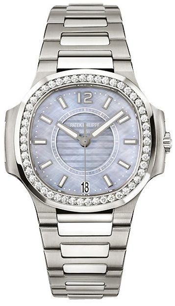 Patek philippe 7008 1a 001 nautilus women 39 s watch for Patek philippe women