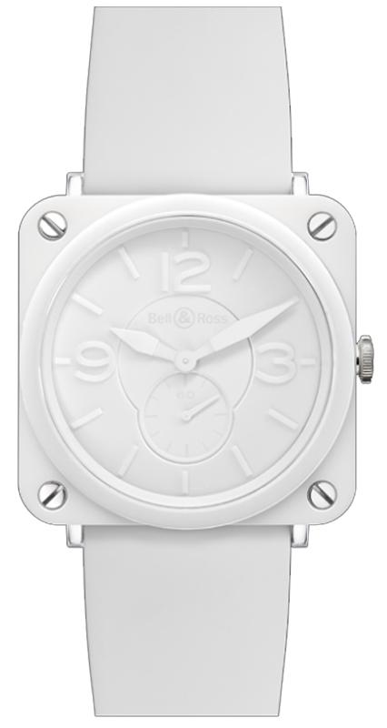 0e87e5412 Bell & Ross Aviation BR-S Ceramic Quartz 39mm Women's Watch BRS-White- Ceramic-Phantom   WatchMaxx.com