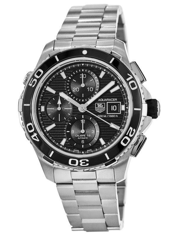 Tag Heuer Aquaracer 500M Automatic Chronograph Men s Watch CAK2110.BA0833 d5ae2ef440