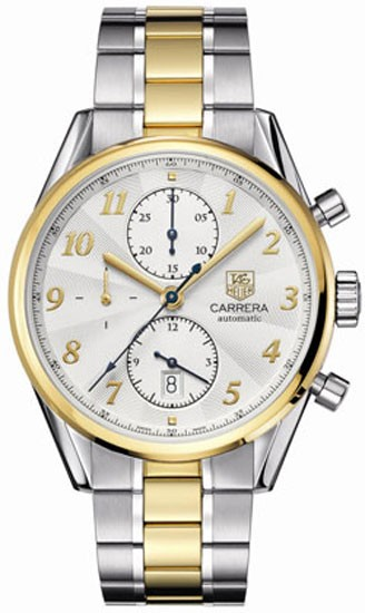 50afeb5241c Tag Heuer Carrera Heritage Chronograph Automatic Men s Watch CAS2150.BD0731