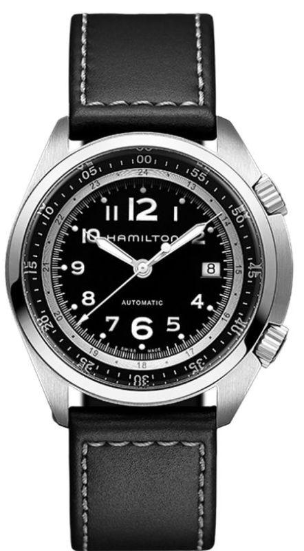 Hamilton H76455733 Khaki Aviation Pilot Pioneer Auto Men s Watch ... f7dfd454f6