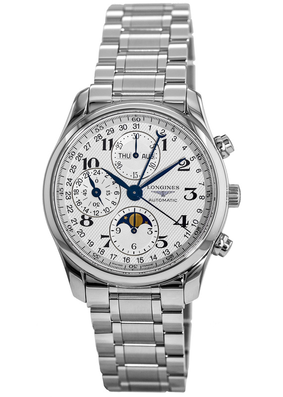5f99d025c87 Longines Master Collection Moonphase 40mm Chronograph Men s Watch  L2.673.4.78.6
