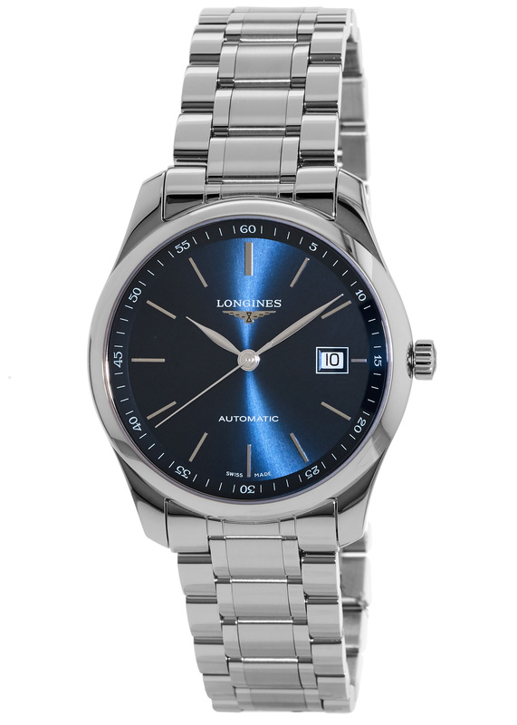 fd50e2979f3 Longines Master Collection Automatic 40mm Blue Sunray Dial Men s Watch  L2.793.4.92.6