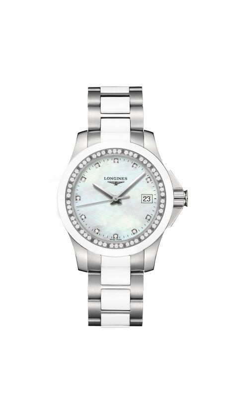 Longines L3 281 0 87 7 Conquest Quartz Women S Watch