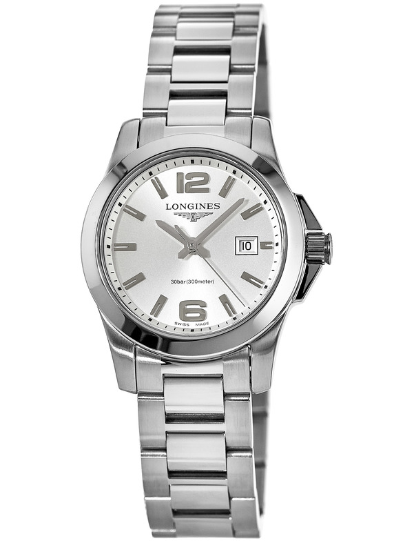 Longines Conquest Quartz Silver Dial Women s Watch L3.376.4.76.6. Stainless  Steel ... 925ad06c888