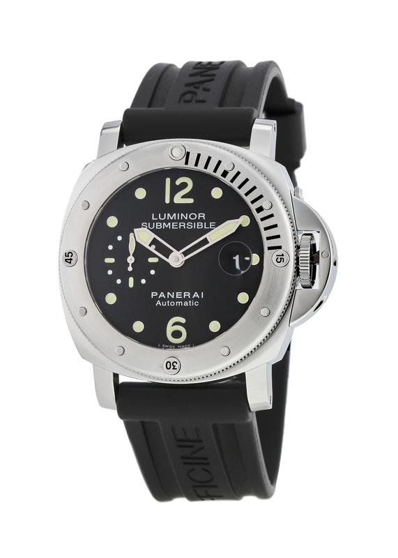 Panerai Luminor Submersible 44mm Divers Professional Men s Watch PAM00024 696e3125dd6e
